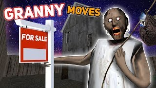 Granny Moves TO A *NEW* HOUSE!!! | Granny The Mobile Horror Game (Mods)