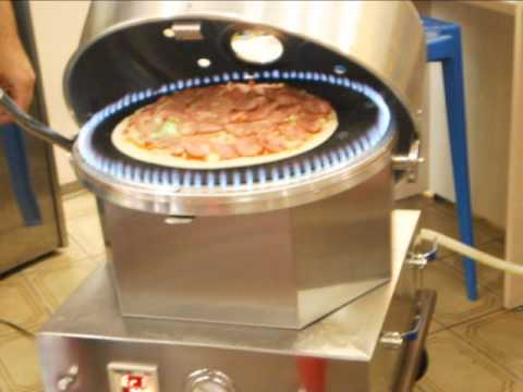 Forno de pizza a g s youtube for Temperatura forno pizza