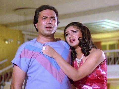 Rajesh Khanna Flirts With Meenakshi Sheshadri - Bewafai