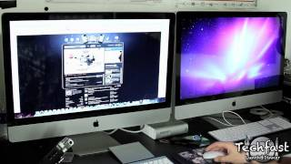How to Connect Two 27 iMacs for a Dual Display Setup!