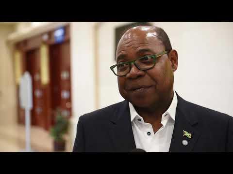 Ed Bartlett, minister of tourism, Jamaica
