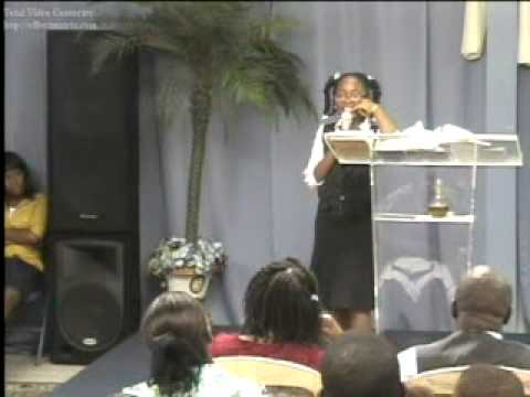 Minister Abigail (abi) only 11 yrs old @ The Lord's House, Worth hearing, Part 2