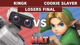 HAT 66 - KingK (ROB) Vs. cookie slayer (Young Link) Losers Finals - Smash Ultimate