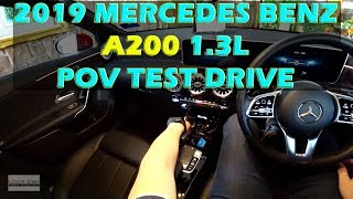 (2019) Malaysia Mercedes Benz A200 POV Test Drive #mercedesbenza200 #a200progressiveline #A200