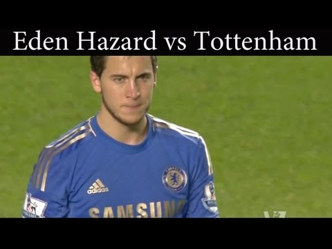 Eden Hazard vs Tottenham Hotspur (Home) 8/05/2013