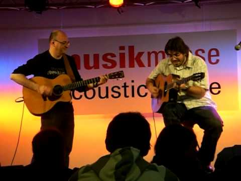 Joscho Stephan and Jacques Stotzem -- All of Me @ Musikmesse 2009
