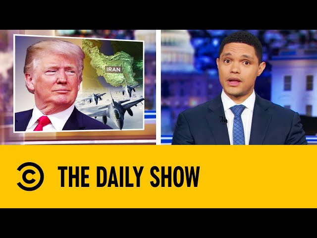 Tensions Flare Up Over The Saudi Oil Attack  The Daily Show With Trevor Noah