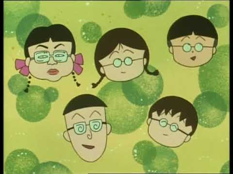 Chibi Maruko Chan #107 Maruko crazy about spectacles