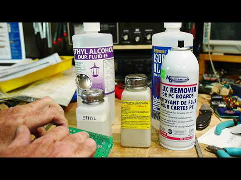 #388 PCB cleaning with Ethyl Alcohol
