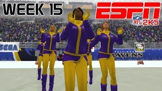 ESPN NFL 2K5 - Cleveland Browns At Baltimore Ravens - Week 15