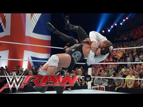 Top 10 Wwe Raw Moments: November 11, 2014 video