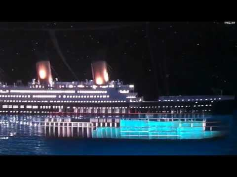 Titanic Sinking Simulation - Updated 2012