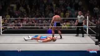 WWE Battleground 2014 Jack Swagger vs Rusev Result!