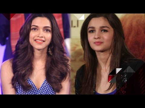 Why did Alia Bhatt's behaviour change after she heard Deepika Padukone's name? | Bollywood Gossip