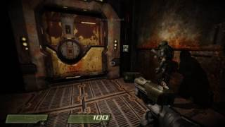 Quake 4 - 01 Air Defense Bunker - 1080p 60fps Uncommented