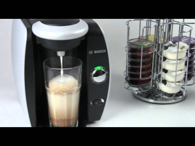 How To Make a Latte with Tassimo T Discs and Milk Frother