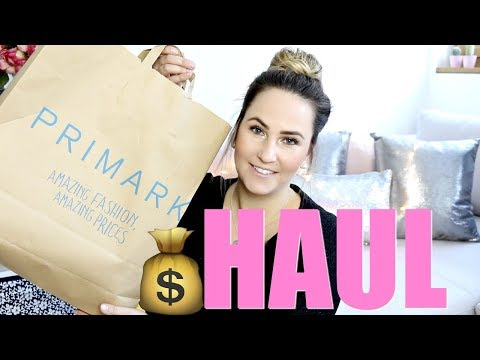 PRIMARK HAUL I FASHION DEKO HAUL VIDEO