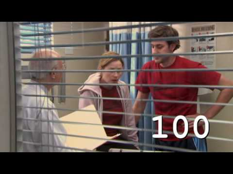 THE OFFICE: 100 Episodes 100 Moments