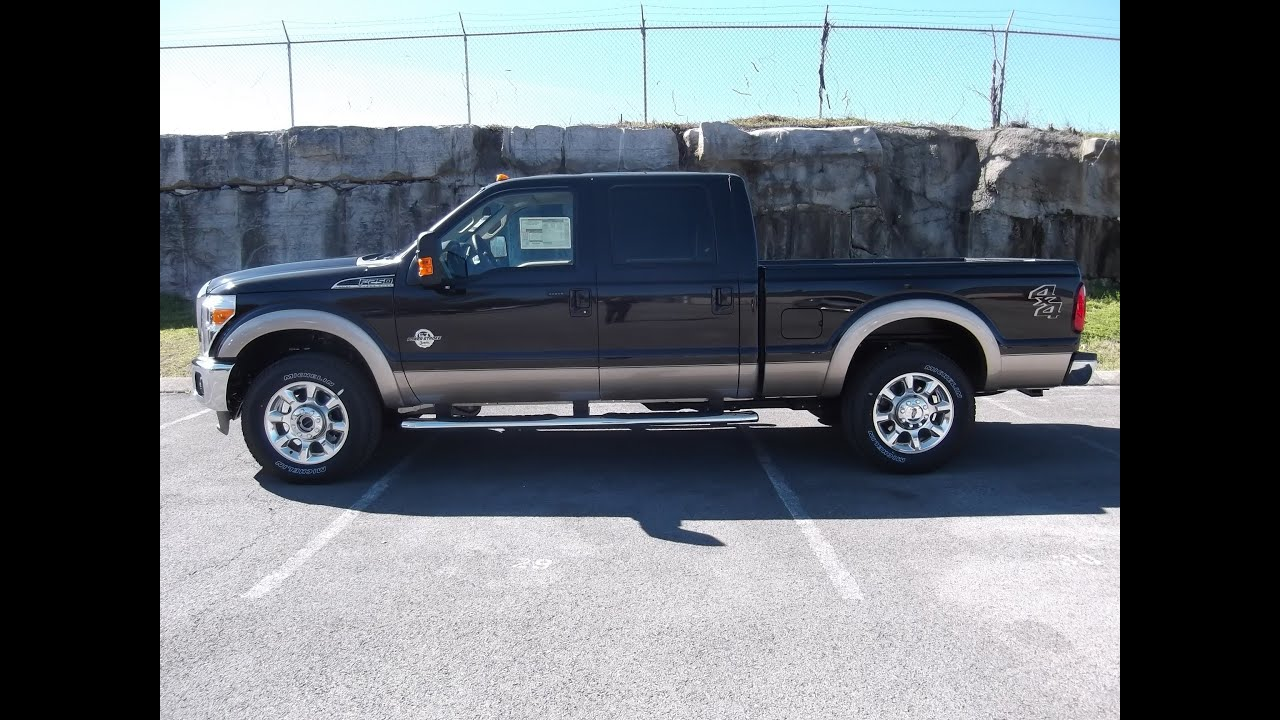 2013 Ford F 250 Crewcab Lariat Kodiak Brown 6 7 Diesel At