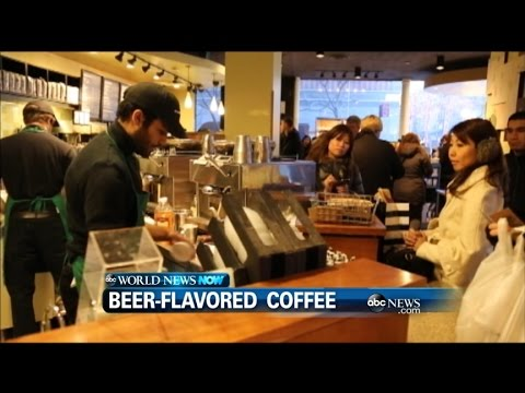 Starbucks Introduces Beer-Flavored Coffee