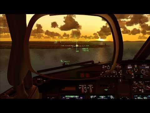 Turkish Airlines B737-800 Landing Istanbul Ataturk Airport