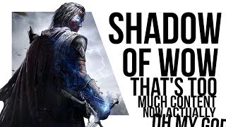 Right, can we just talk about Shadow of War for 15 minutes?