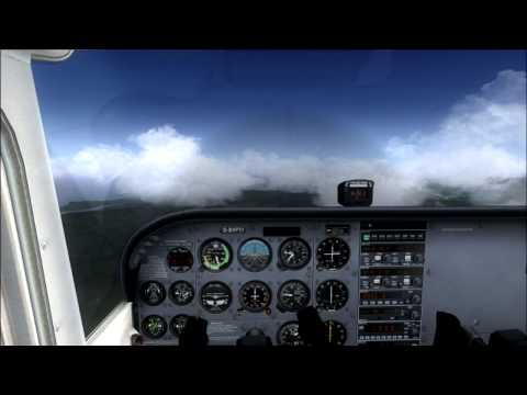 Tudo o que sobe tem que descer - Flight Simulator X