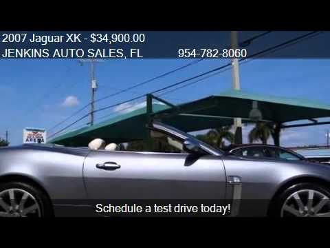 2007 Jaguar XK  - for sale in Pompano Beach, FL 33064