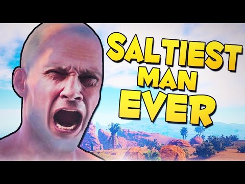 SALTIEST MAN EVER! - Rust Funny Moments