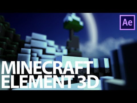 Element 3D Minecraft Tutorial