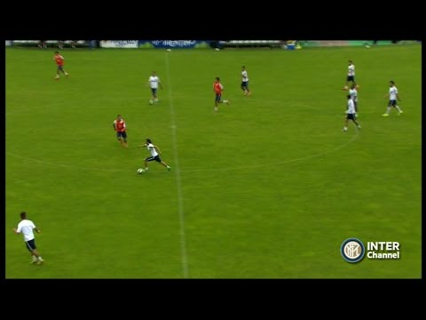 PINZOLO 2014 - ALLENAMENTO INTER REAL AUDIO 14 07 2014