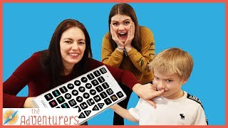 Pause Challenge Mute! Mom Takes Control / That YouTub3 Family I Family Channel