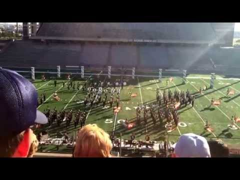 Seven Lakes High School Spartan Band Area Competition October 25, 2014