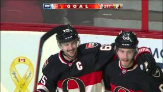 Senators score twice on power play, beat Canucks