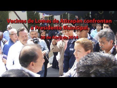 Vecinos de Lomas de Atizapán confrontan a Presidente Municipal Pedro Rodríguez