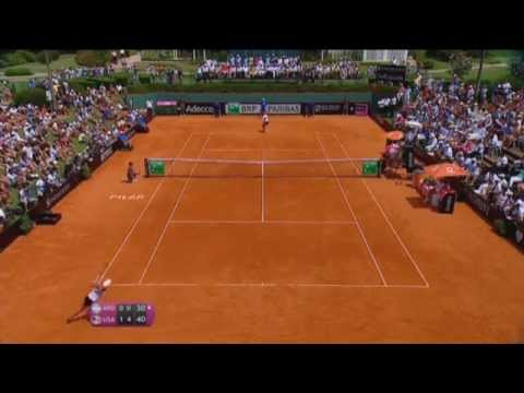 Highlights: Maria Irigoyen (ARG) v Serena Williams (USA)