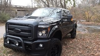 2014 F250 Black Ops By Tuscany Fully Loaded - Ford Of Murfreesboro 07