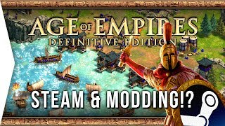 You Can MOD Age of Empires: Definitive Edition! ► AoE 2 DE Steam Release Date, Bundles & Modding