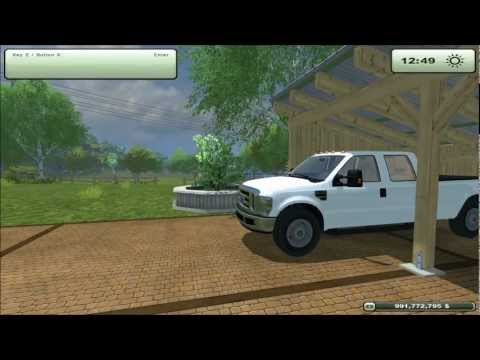 Mod for Farming Simulator 2013 2010 Ford F-350 REVIEW