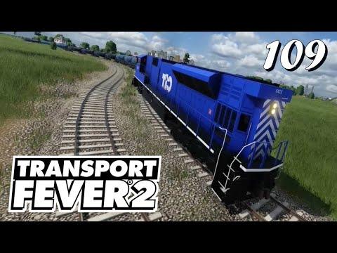 Transport Fever 2 S6/#109: Unterwegs mit der EMD-Doppeltraktion [Lets Play][German][Deutsch]