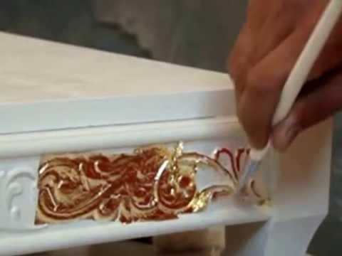 Золочение декора своими руками