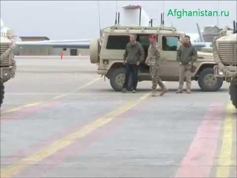 Jens Stoltenberg in Northern Afghanistan