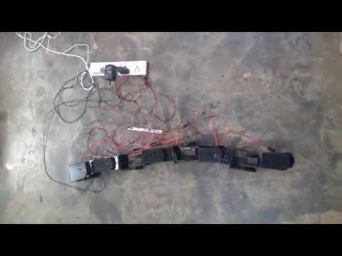 Snake-Robot Side-winding Motion