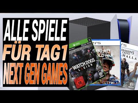 Playstation 5 - Xbox Series X - ALLE NEUEN SPIELE für TAG 1 - Die besten Games für Eure NEXT-GEN