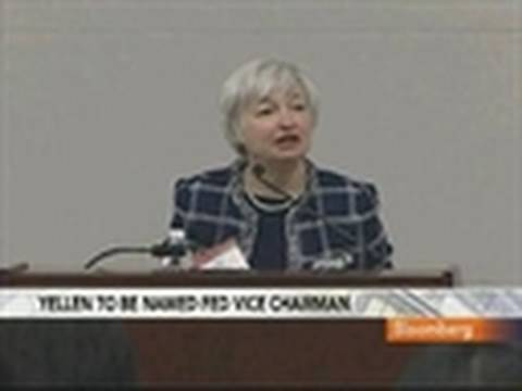 Yellen Said to Be Obamas Pick for Fed Vice Chairman: Video