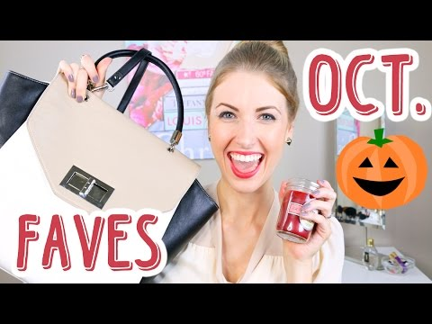 OCTOBER FAVORITES || Candles, Makeup, Music, Accessories