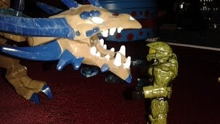 Master Chief Vs a Dragon ( stop motion )