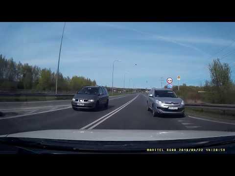 CBY 2022L Wypadek - Grudziądz Trasa średnicowa 22.04.2018