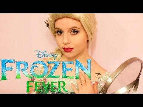 Frozen Fever Elsa Cosplay Makeup Tutorial!