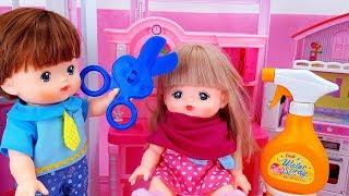 Em Bé Cắt Tóc Cho Búp Bê Nancy Thành Công Chúa Xinh Đẹp - Đồ Chơi Trẻ Em   Nancy Toy Review
